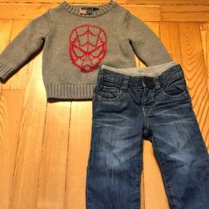 BabyGap Spider-Man outfit!